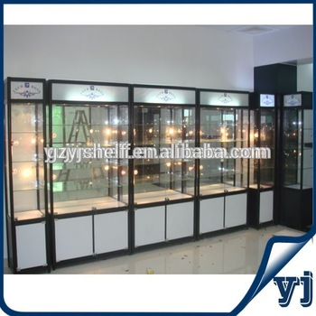 2014 Charming Design Wood And Glass Showcases For Jewelry Shop .