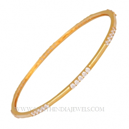 Gold Bangles in 10 Grams ~ South India Jewe