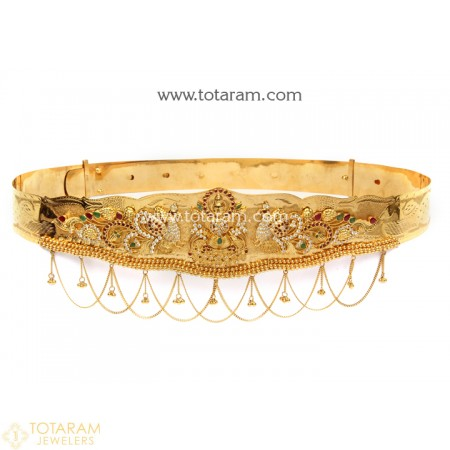 22K Gold Vaddanams -Oddiyanams -Kammar Patta -Waist Belts -Indian .