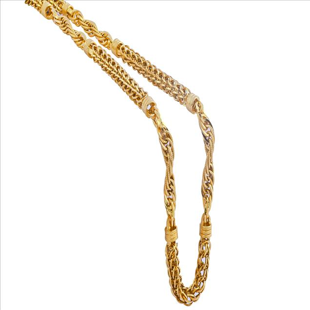 Best Collections of Gold Chains for Men & Women : Jewels B