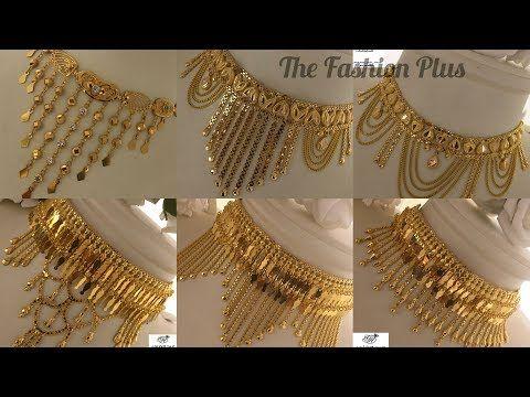 Pin by Farzana Chaity on Gold jewelery | Gold choker necklace .