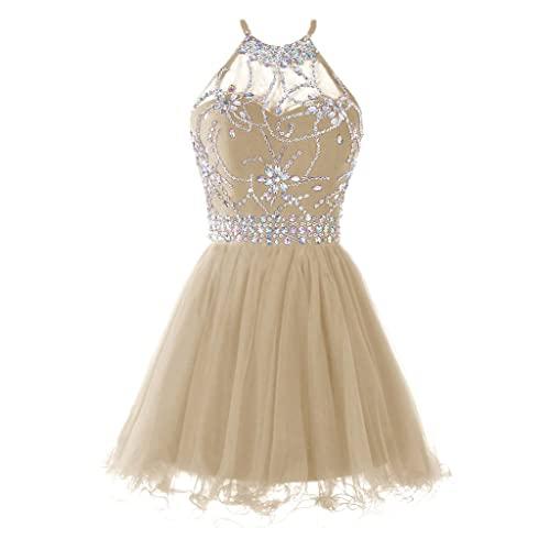 Short Gold Prom Dress: Amazon.c