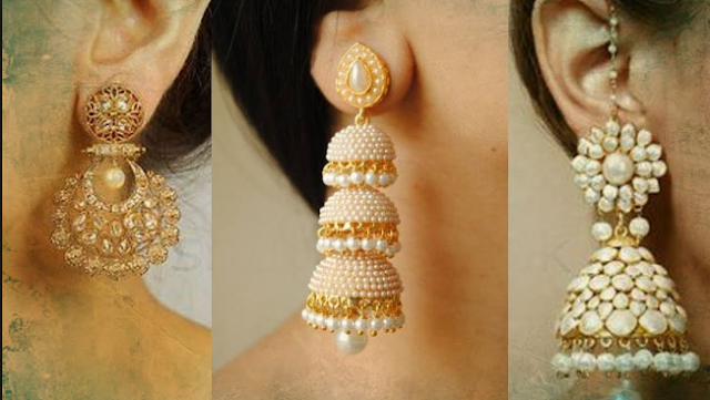 Top 10 earring design 2019, gold earrings for girls and womans .