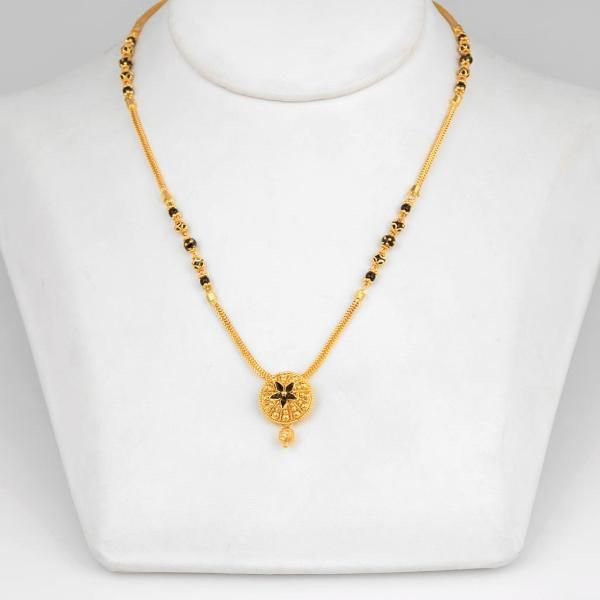 Gold Small Mangalsutra Designs With Price | Gold mangalsutra .