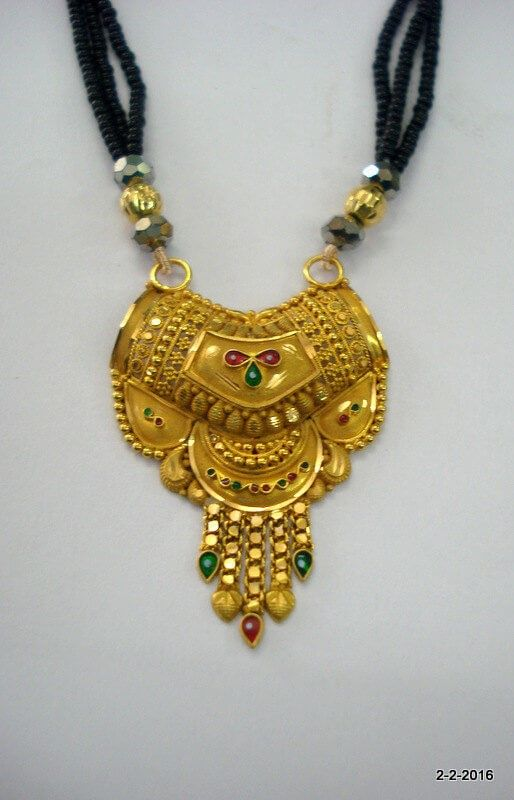 15 Latest Gold Mangalsutra Designs 2019 With Pictures | Gold .