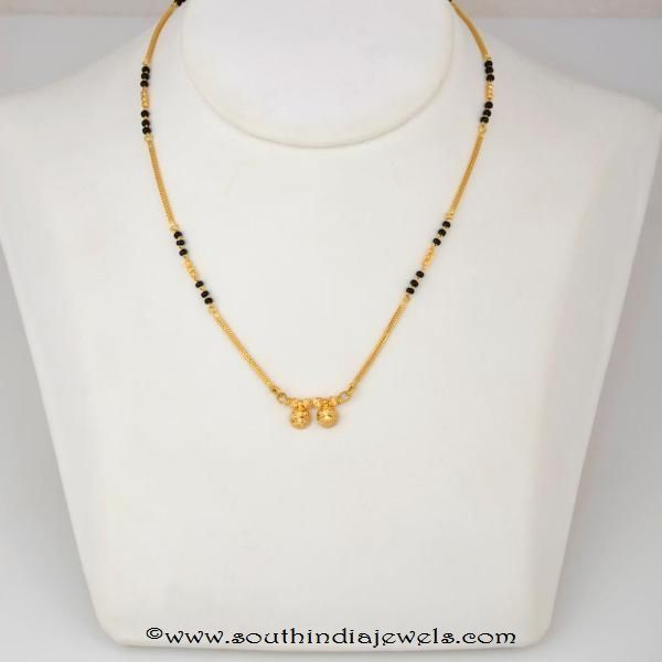 22k-gold-light-weight-mangalsutra-design-with-weight-details (With .