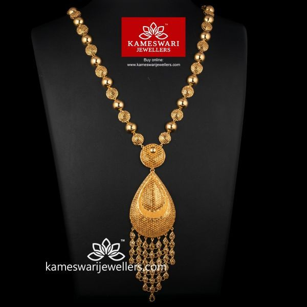 Aiyla Turkish Long Necklace | Turkish gold jewelry, Gold jewelry .