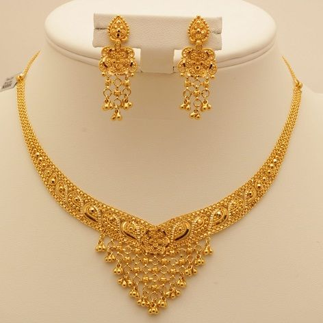 50 Grams Gold Necklace Designs - Latest Collection for Wedding .