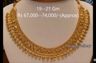 Pin by Jhuma on Necklaces | Online gold jewellery, Gold fashion .