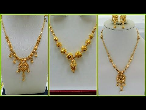 Gold Necklace Designs In 10   Grams