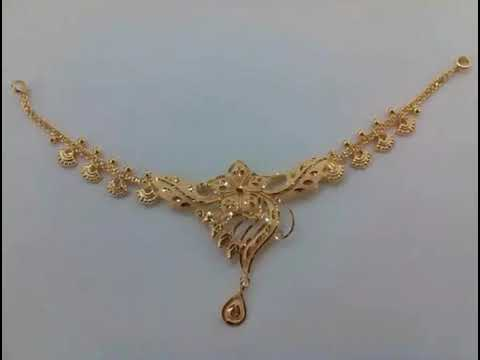 10 Gm Gold Necklace Designs under 10 gram - Jewelry Am