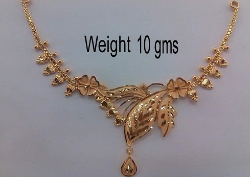Gold Necklace Designs in 10 Grams - Latest and Traditional Mode