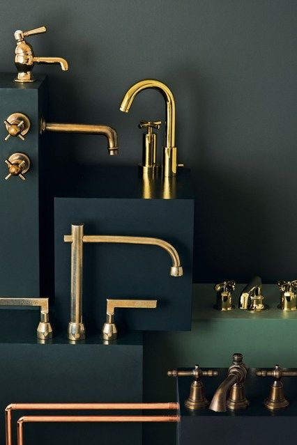 The 10 Best Interiors Trends for 2014 | Copper interior, Gold .