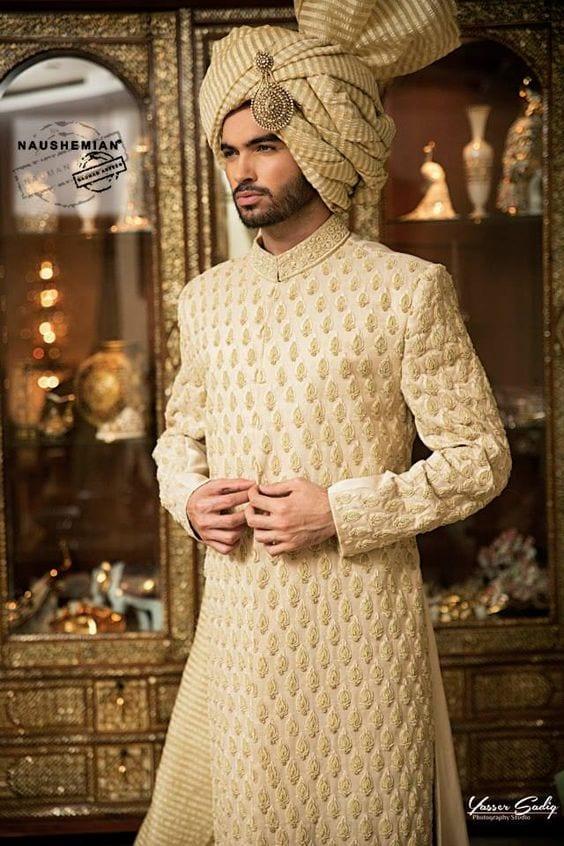 Wedding Sherwani Outfits - 20 Best Sherwani Ideas for Groo