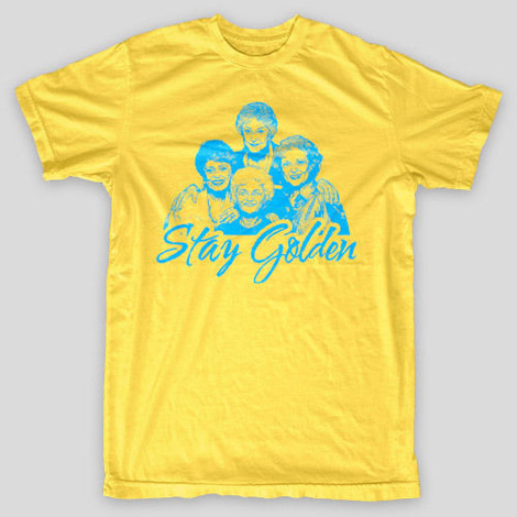 The Golden Girls t-shirts - Stay Golden shirt, Bea Arthur te