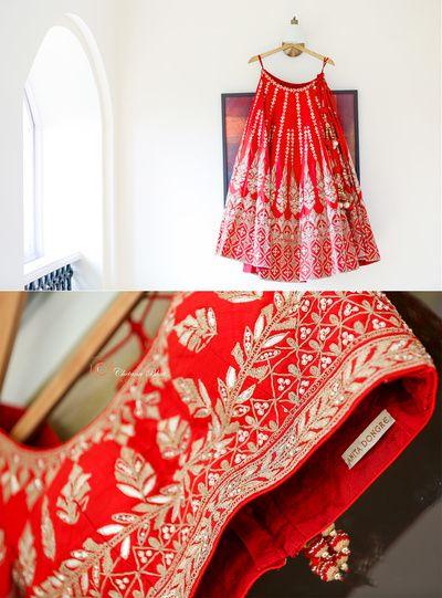 Wedding Ideas & Inspiration | Bridal lehenga, Bridal lehenga red .