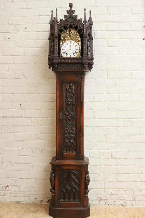 Gothic Grandfather clock - Grandfather clocks - Houtro