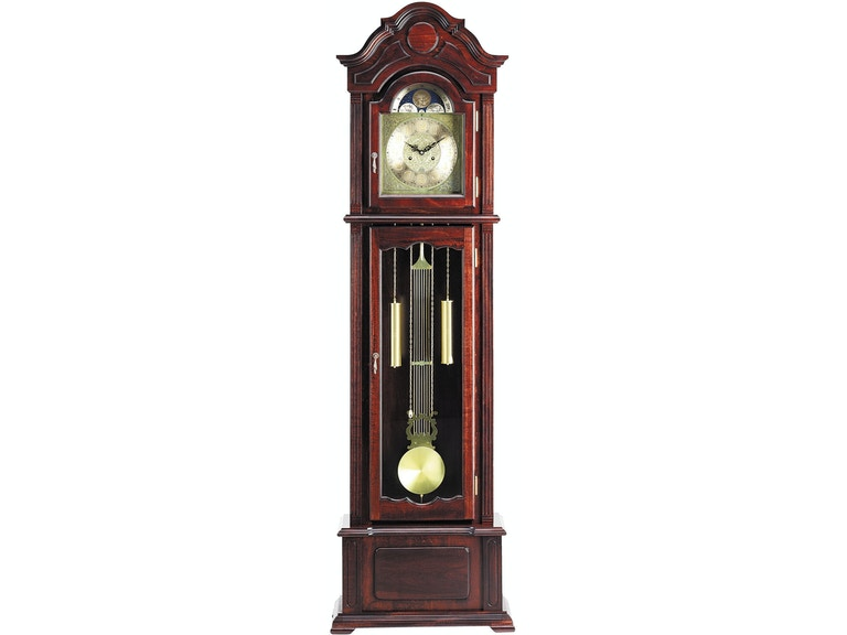 Acme Furniture Accessories Dark Walnut Grandfather Clock 01402 .