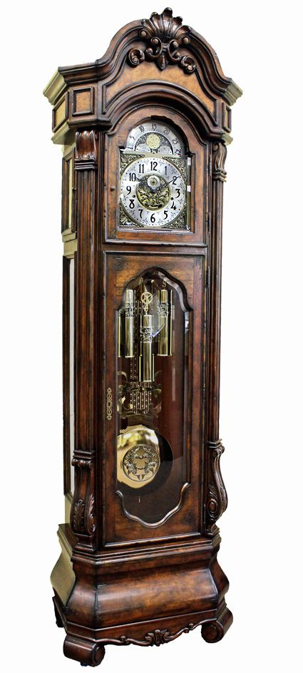 This custom built grandfather clock offers all of the features on .