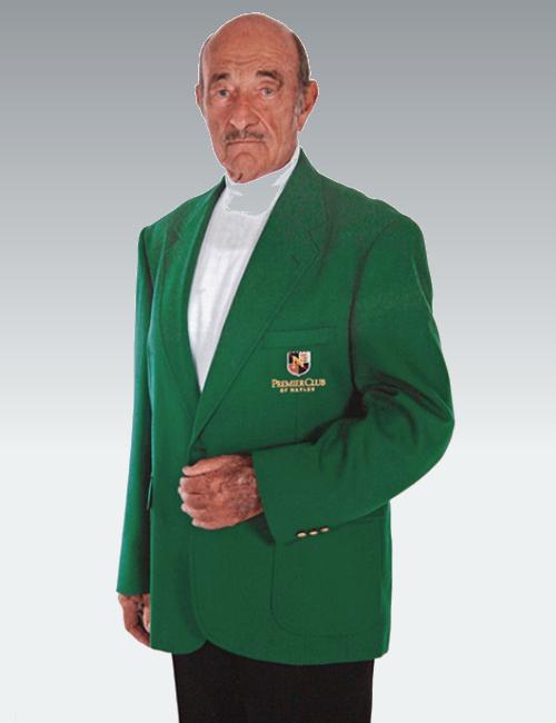 Augusta Green Mens Blazer, Master's Tournament Jack