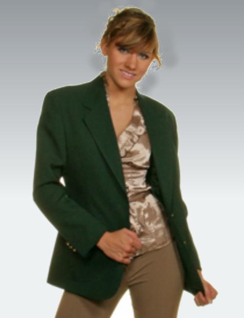 Hunter Green Womens Blazer - starting at $