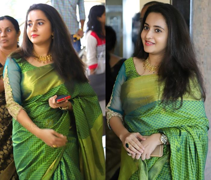 Green Blouse Designs