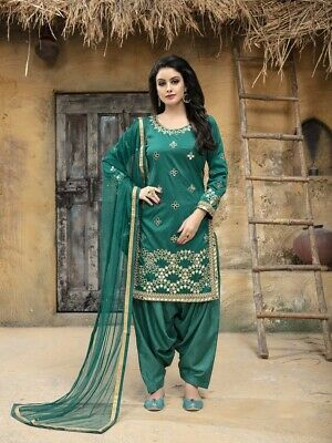 Latest Indian Green Salwar Kameez Pakistani Bridal Punjabi Ethnic .