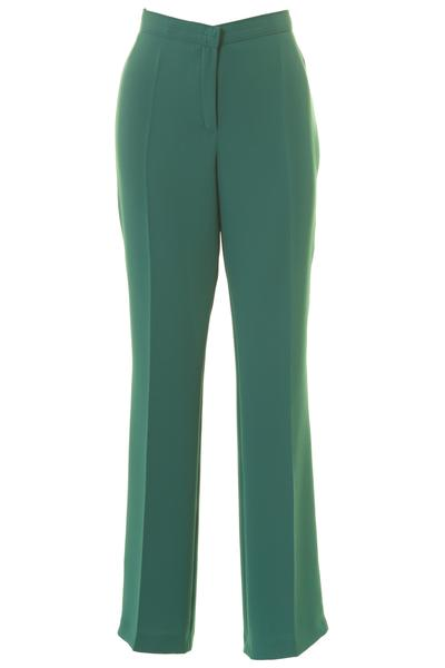 Busy Clothing Womens Smart Jade Green Trousers – Busy Corporation L