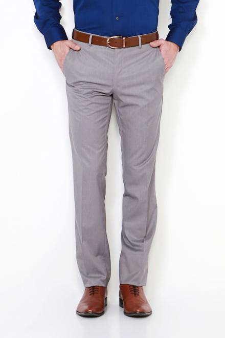 Van Heusen Trousers & Chinos, Van Heusen Grey Trousers for Men .