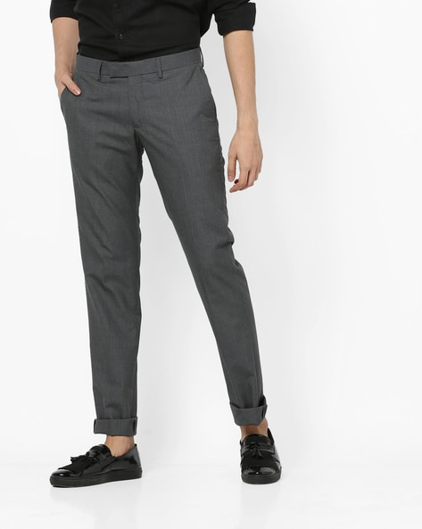 Buy Dark Grey Trousers & Pants for Men by U.S. Polo Assn. Online .