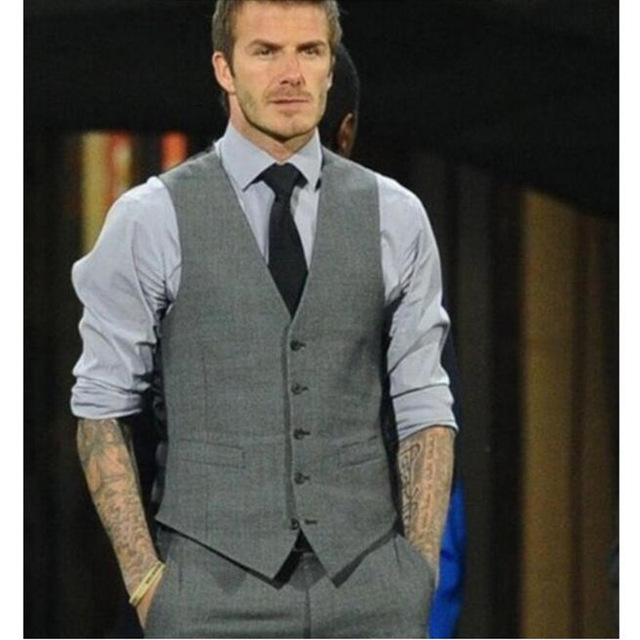 David Beckham Grey Ve