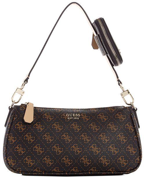 GUESS Kamryn Shoulder Bag & Reviews - Handbags & Accessories - Macy