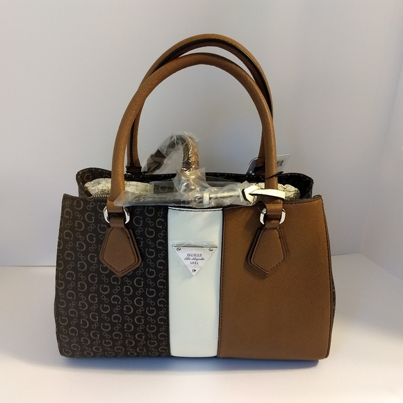 Guess Bags | Natural Brown Handbag Purse | Poshma