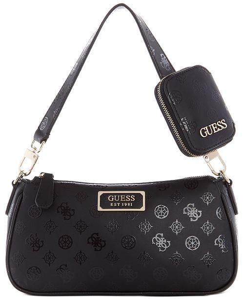 GUESS Delon Shoulder Bag & Reviews - Handbags & Accessories .