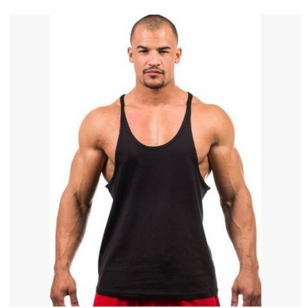 Mens tank top cotton gym vest, bodybuilding tank tops, View .