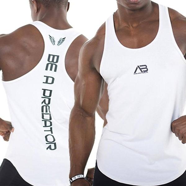 Gym Quick Drying Tank Tops Men Sport Vest Gym Clothes Men Sports .