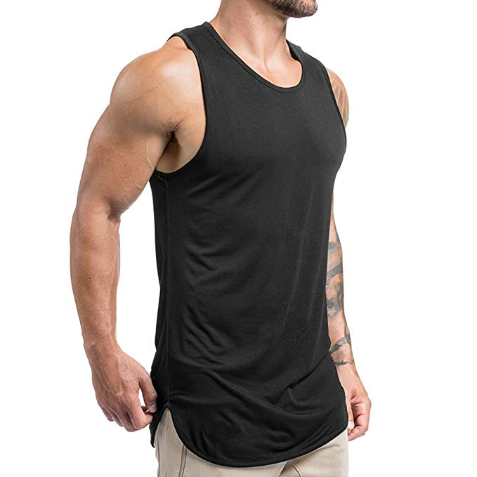 High-end Custom Digital Print Gym Wear Stringer For Men - Buy .