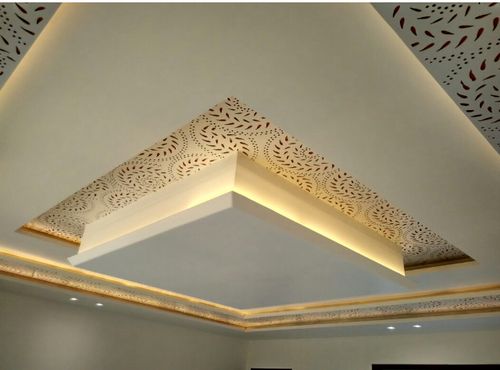 Gypsum Ceiling Design at Rs 85/square feet | bedroom false ceiling .