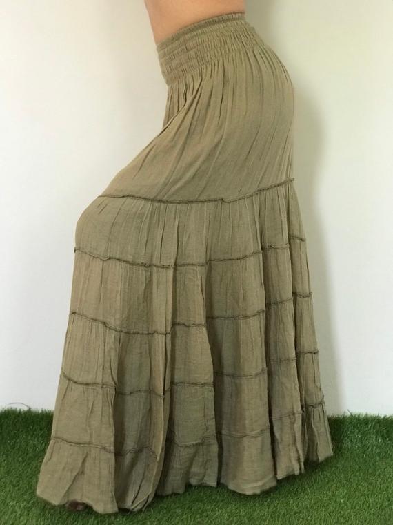 SK0403 bohemian skirts long gypsy skirts summer skirts | Et