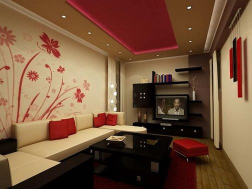15 Latest Hall Colour Designs With Pictures In 2020 | White walls .