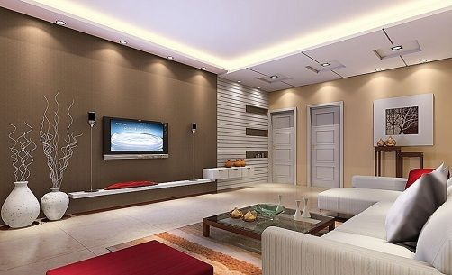 15 Latest Hall Colour Designs With Pictures In 2020 | Home living .