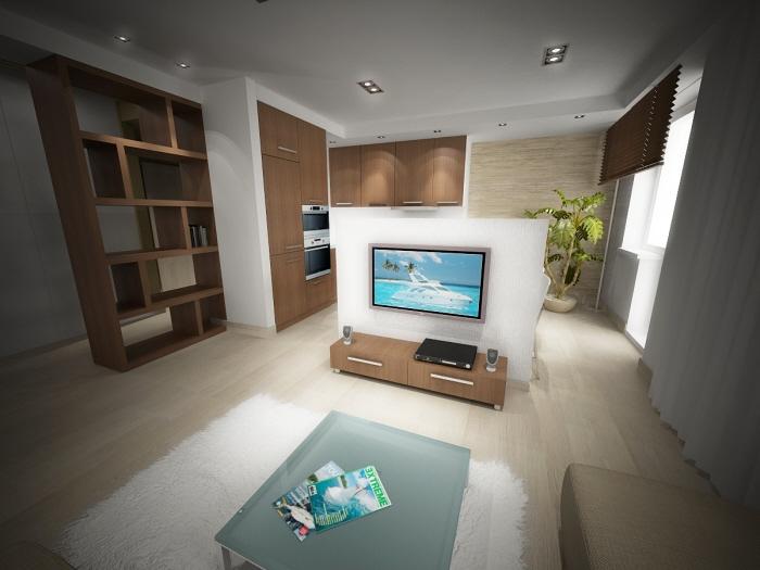 Living room and entrance hall by Nikita Zagurskii at Coroflot.c