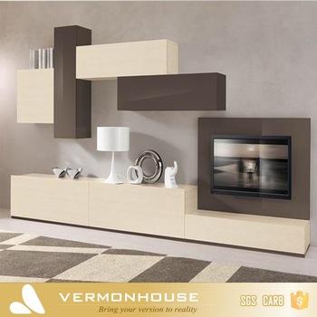Vermonhouse High Gloss TV Hall Cabinet Living Room Furniture .