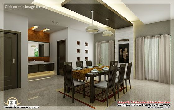 Kitchen and dining interiors | Decoraciones de casa, Interiores .