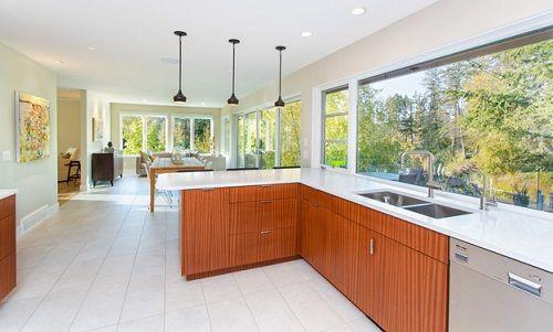 9 Latest & Best Hall Kitchen Designs With Photos In 2020 | Kitchen .