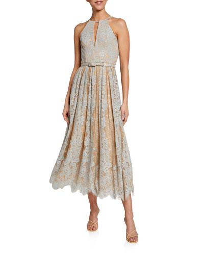 Halter Neckline Dress | Neiman Marc