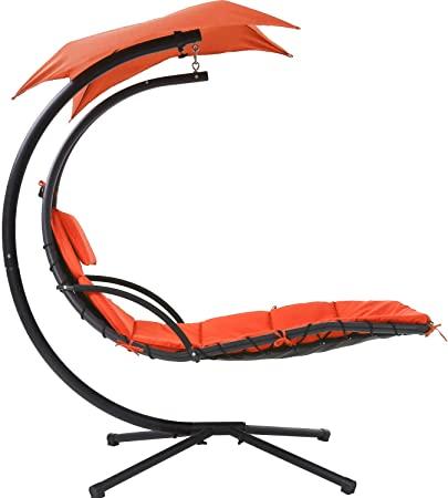 Amazon.com: Hammock Chair Hammock Stand Outdoor Chair Patio Lounge .
