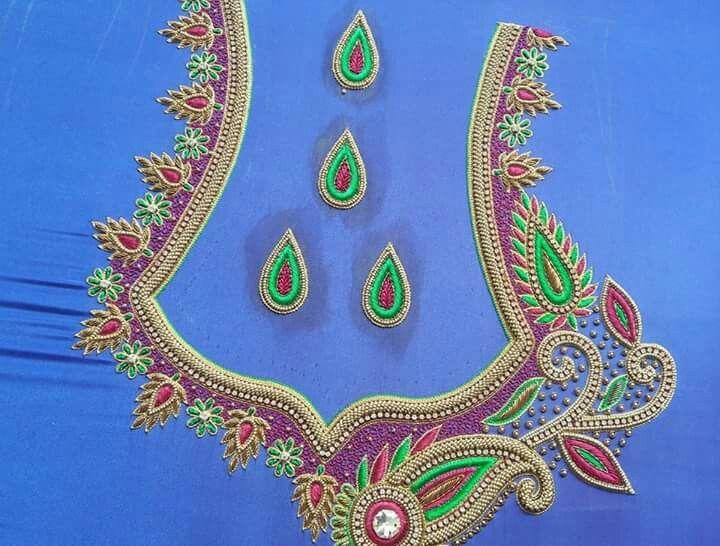 Pin by Saiarjun Kokkonda on Aari Designs (With images .