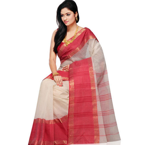 Casual Plain Fancy Handloom Saree, With Blouse Piece, Rs 1000 .