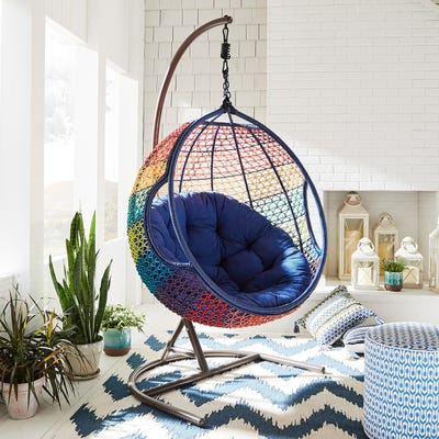 Swingasan® Rainbow Ombre Hanging Chair | Pier